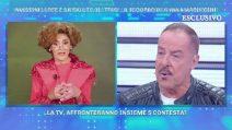 Domenica Live, Anna Marchesini nel ricordo di Massimo Lopez