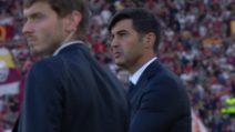 """Roma, Fonseca: """"Sul gol di Kalinic chi ha deciso, arbitro o Var?"""""""