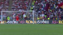 Roma-Cagliari, si infortuna anche Edin Dzeko