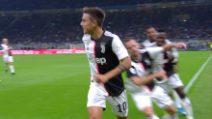 Inter-Juventus, il gol di Paulo Dybala