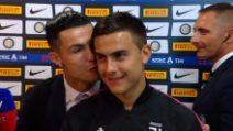 Dybala coccolato da CR7 e Bonucci: è la serata dei baci