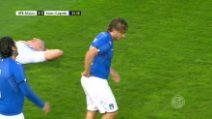 Germania-Italia Legends 3-3: gol e highlights