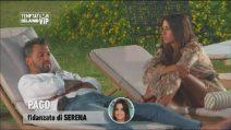 Temptation Island Vip, Pago deluso da Serena si confida con Valentina