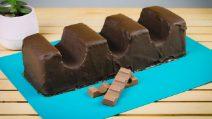 Baretta al cioccolato gigante: lascerete tutti senza parole!