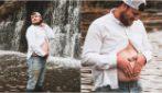 La moglie incinta è costretta a letto: la dolcissima sorpresa del marito per strapparle un sorriso