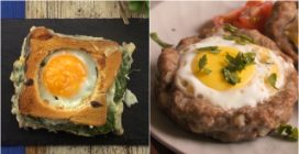4 delicious recipes with eggs: they are perfect for dinner!