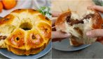 Tangerine donut: soft and fluffy for dessert lovers!