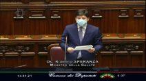 Covid, Speranza: Governo prorogherà stato emergenza al 30 aprile