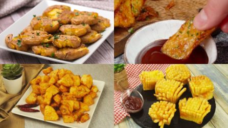 4 Quick and easy recipes to prepare super tasty potatoes!