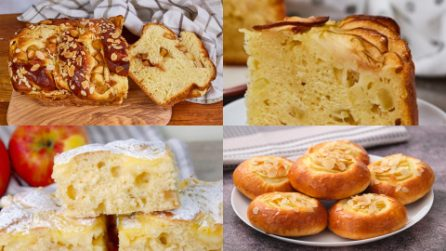 Soft, simple and delicious! 4 Apple recipes that will make you fall in love at the first bite!
