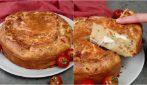 Torta salata ripiena prosciutto e formaggio: una vera delizia!