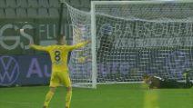Zaccagni, super gol realizzato in rovesciata