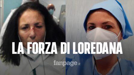 """La forza di Loredana, infermiera aggredita al Cardarelli: """"Tornerò a dare amore"""""""