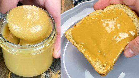 Burro d'arachidi fatto in casa: pronto in 5 minuti!