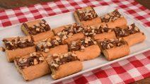 Biscoito com creme de avelã: a receita de um lanche delicioso em poucos minutos!