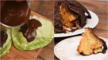 Aprenda a utilizar folhas de repolho para criar uma decoração de chocolate legal!