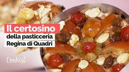 La videoricetta del certosino bolognese del pasticciere Francesco Elmi