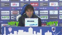 """Inter, Conte: """"La Dea Bendata si è dimenticata di noi"""""""