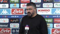 """Napoli, Gattuso: """"Perso la testa, dobbiamo migliorare"""""""
