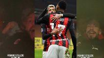 Milan, i festeggiamenti dopo la vittoria: cosa combina Castillejo in macchina