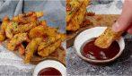 Patate fritte a spicchi: la ricetta sfiziosa in padella!