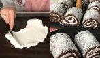 Mini rotoli cioccolato e cocco: il dessert senza cottura che vi delizierà