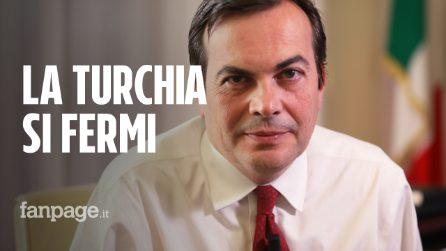 """Ministro Amendola: """"La Turchia si fermi, basta vittime innocenti in Siria"""""""