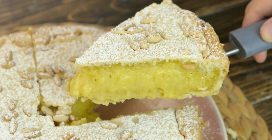 Grandma's Custard Pie Recipe: sweet and creamy and bakes up perfectly.