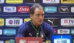 """Mancini: """"Dubbio Barella-Bernardeschi. Vogliamo l'Europeo"""""""