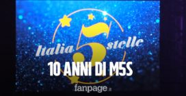"""10 anni M5s, sul palco Di Maio, Conte e Fico: """"Turchia viola il diritto internazionale"""""""