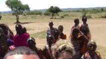 Marracash in vacanza in Kenya con Elodie