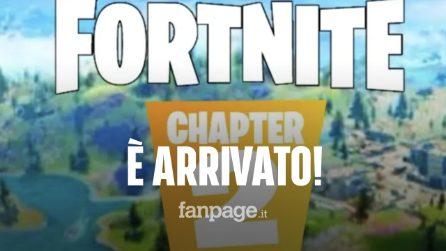 Fortnite, il capitolo 2 è finalmente arrivato: ecco cosa c'è da sapere e quali sono le novità
