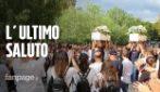 Strage di giovani in Sicilia, ad Adrano i funerali di Lucrezia, Salvo, Manuel ed Erika