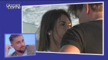 Uomini e Donne, Cristiano prova a baciare Giulia: il video dell'esterna