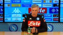 """Carlo Ancelotti: """"A Napoli sto bene, il mio futuro non è priorità"""""""