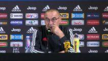 "Juventus, Sarri: ""Douglas Costa out, Ramsey e Danilo ci sono"""
