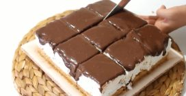 Torta mattonella senza cottura: la ricetta del dolce goloso e cremoso