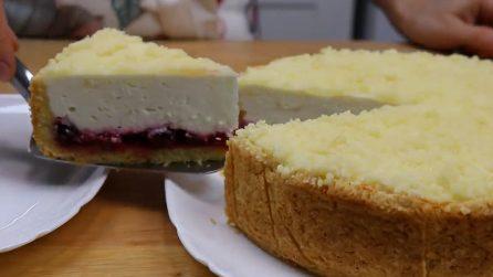 Torta di ricotta e ciliegie: un dessert da acquolina in bocca