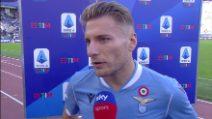 """Lazio-Atalanta, Ciro Immobile: """"Primo tempo penoso, bene nella ripresa"""""""