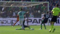 Sassuolo-Inter, il gol lampo di Lautaro Martinez