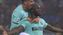 Serie A: Bologna-Inter, il rigore di Lukaku