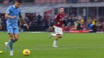Serie A, Milan-Lazio 1-2: il gol di Correa