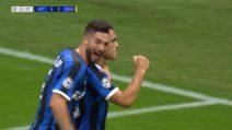 Champions: Inter-Borussia Dortmund, il gol di Lautaro Martinez