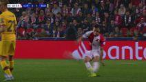 Champions, Slavia Praga-Barcellona 1-2: gol e highlights