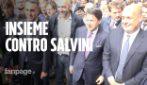 Pd, M5s (e Conte) per la prima volta insieme. Ma i militanti vanno d'accordo solo contro Salvini