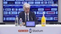 """Gasperini: """"Atalanta da scudetto? No, lo può solo perdere la Juventus"""""""