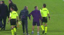 Franck Ribery strattona l'assistente e adesso rischia la maxi squalifica