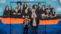 Un murales dedicato a Francesco Guccini: sarà la copertina dell'album tributo