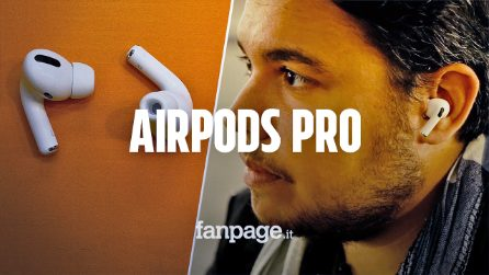 AirPods Pro: unboxing e prova delle cuffie con cancellazione del rumore di Apple