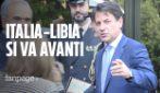 """Accordo Italia-Libia, Conte: """"Memorandum si può migliorare, ma non va gettato a mare"""""""